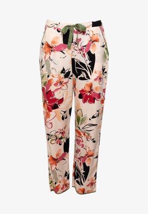 Pyjama bottoms - peach floral