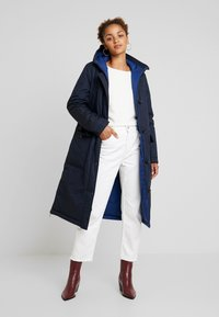 Marc O'Polo - BIG PUFFER COAT PADDED REVERSIBLE - Winter coat - midnight blue - 1