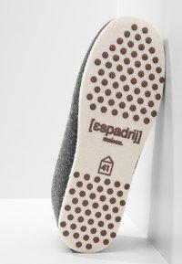 Espadrij l´originale - CHALET TRADITIONAL - Tofflor & inneskor - asphalt/gris - 4