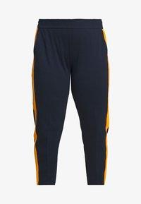 MY TRUE ME TOM TAILOR - ELASTIC WAIST PANTS - Bukser - real navy blue - 3