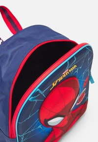 Kidzroom - BACKPACK AND PENCIL CASE SPIDER-MAN BE STRONG SET - School set - navy - 2