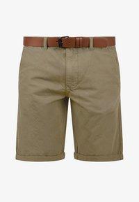 Solid - CHINOSHORTS MONTIJO - Shorts - dune - 3