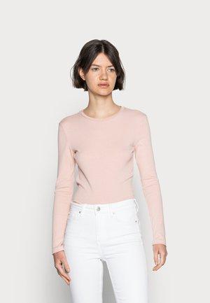 Long sleeved top - rose