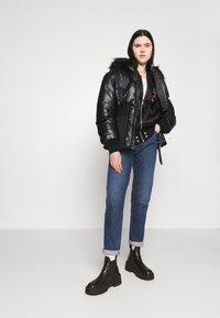 Diesel - W-ISOKE-SHINY - Winter jacket - black - 1