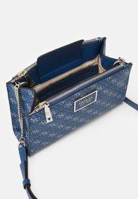Guess - TYREN STATUS - Across body bag - blue - 2