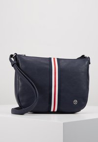 TOM TAILOR DENIM - RIMINI - Bandolera - dark blue - 0