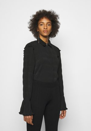 SAGE PLEAT - Overhemdblouse - black