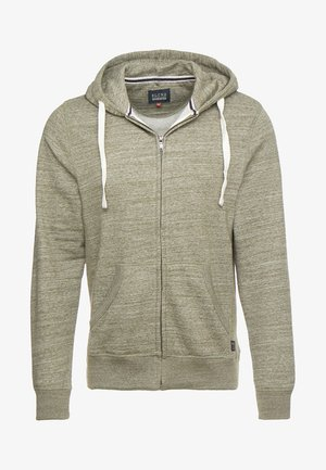 veste en sweat zippée - forest night green