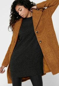 ONLY - Classic coat - pumpkin spice - 3