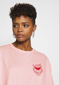 Even&Odd - T-shirt print - pink - 3