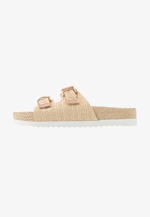 GOLDIIE - Slippers - natural
