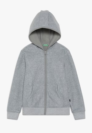 JACKET HOOD - Fleece jacket - grey