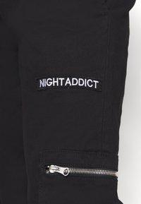 Night Addict - NAASTRID - Cargo trousers - black - 5