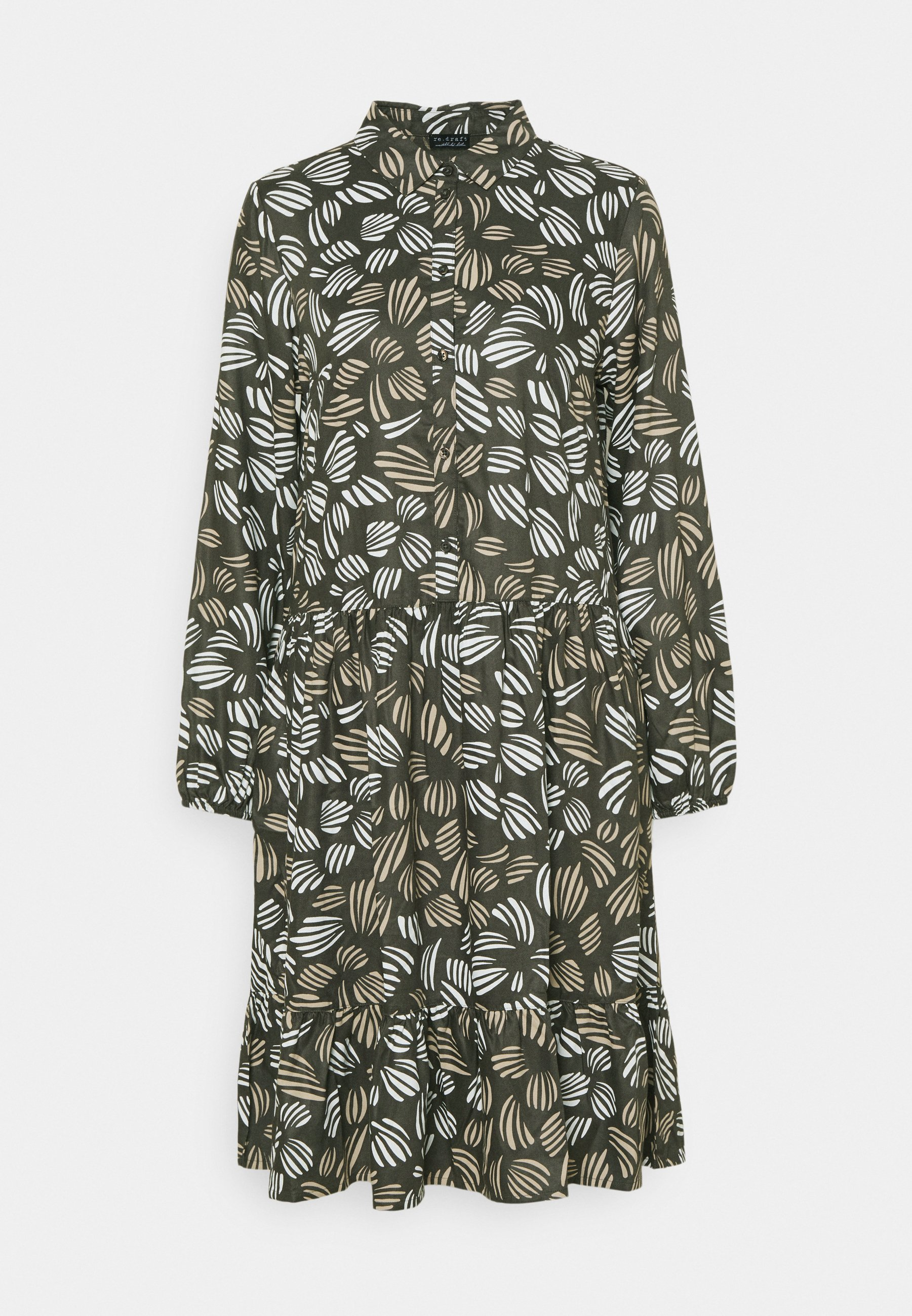 Women PRINTED MIDI DRESS - Shirt dress