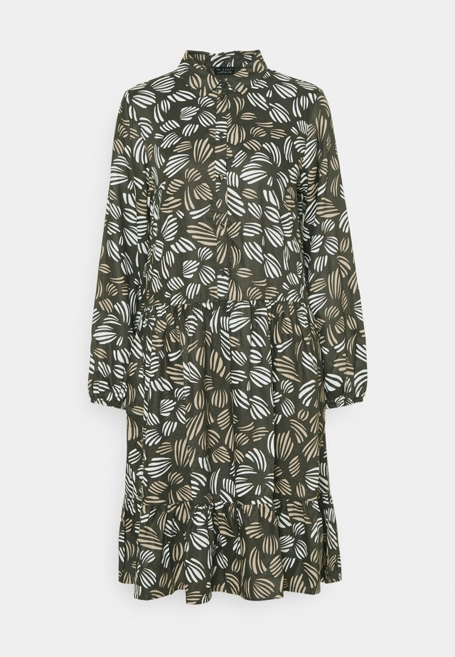 PRINTED MIDI DRESS - Shirt dress - multicolour