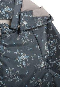 Wheat - Waterproof jacket - grey/blue - 2