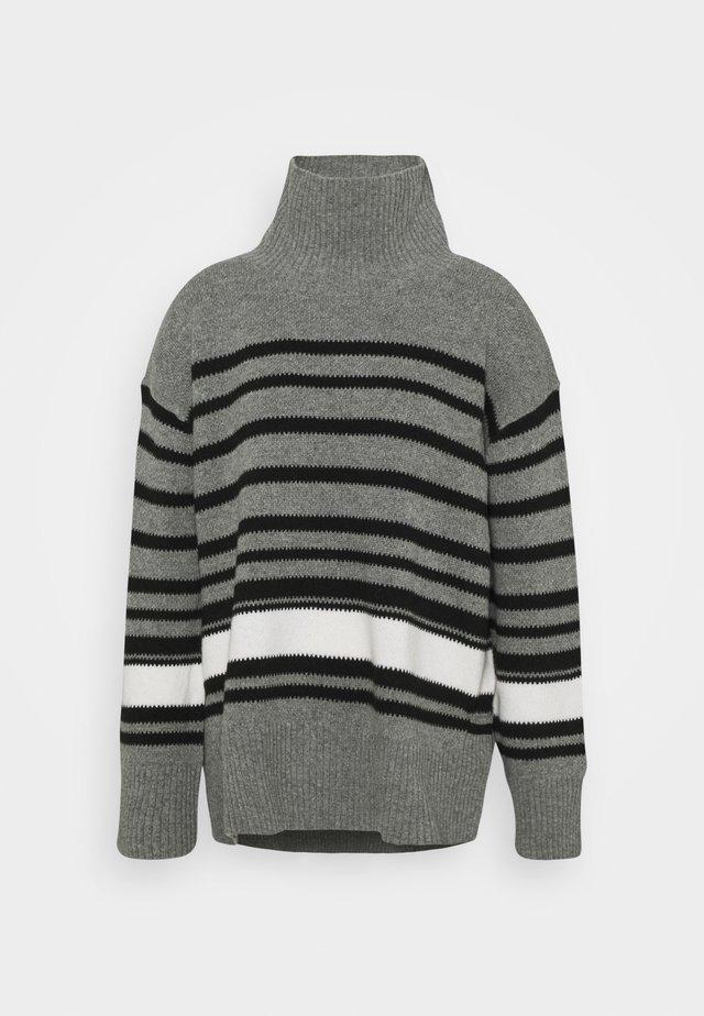 HEDERA - Sweter - med grey mel