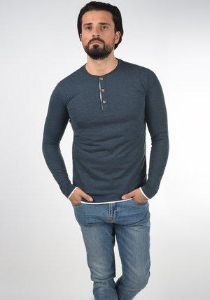 GIFFORD - T-shirt à manches longues - navy mix