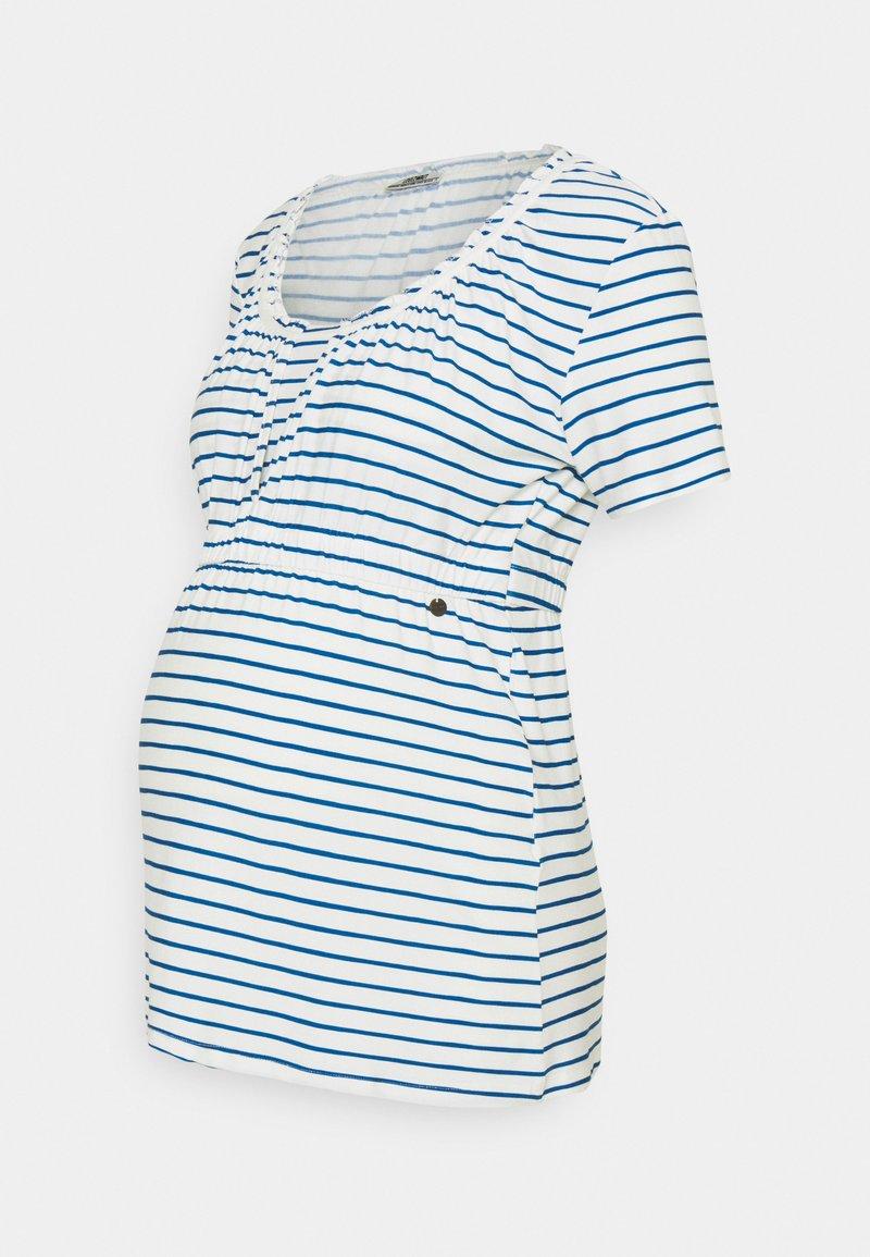 LOVE2WAIT - SHIRT NURSING BRETON - Print T-shirt - navy