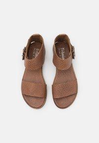 Felmini - CAROL  - Ankle cuff sandals - cognac - 5