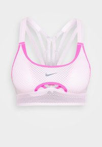 Nike Performance - INDY ULTRABREATHE BRA - Sport BH - pink foam/hyper pink/black - 4