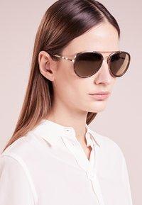 Burberry - Sunglasses - gold - 4