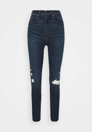 DARK CLEAN - Jeans Skinny Fit - dark blue denim