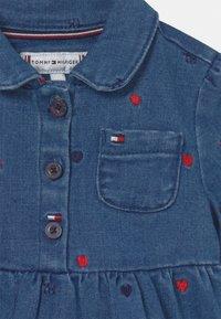 Tommy Hilfiger - BABY DRESS - Denim dress - blue denim - 2