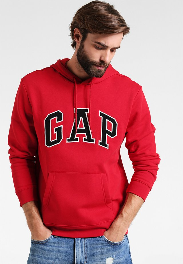 ARCH - Hoodie - crimson red
