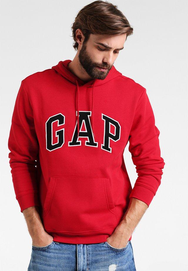 ARCH - Bluza z kapturem - crimson red