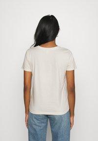 ONLY - ONLSYMBOL MIND - Print T-shirt - pumice stone - 2