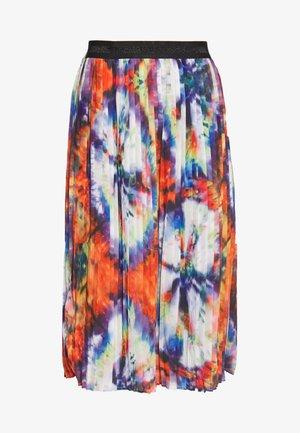 DORA - Spódnica trapezowa - multi