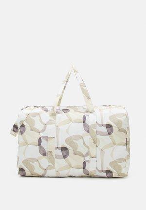 LEISURE BAG PRINT UNISEX - Sports bag - off-white