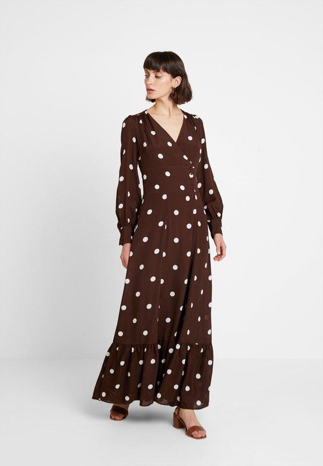 BOHEMIAN  - Vestito lungo - dark chocolate