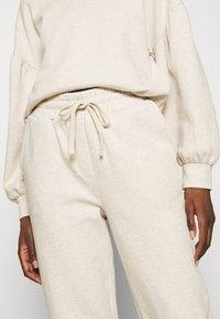 Lounge Nine - CESARINE PANTS - Trousers - pastel parchment melange - 5