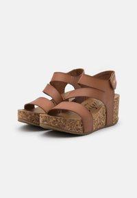 Blowfish Malibu - VEGAN LEELEE - Platform sandals - arabian sand dyecut - 2