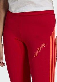 adidas Originals - HW TIGHTS - Legging - scarlet/semi solar red - 3