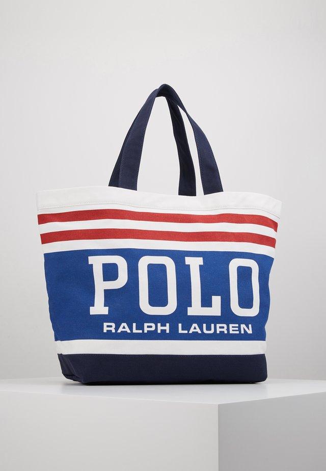 BIG TOTE - Shopping bag - white