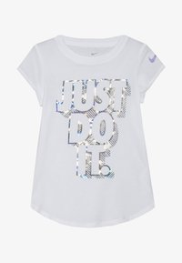 Nike Sportswear - IRIDESCENT SCOOP TEE - T-shirt print - white - 2