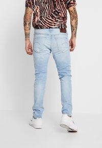 G-Star - 3301 SLIM - Slim fit jeans - blue denim - 2