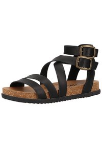 Blowfish Malibu - Platform sandals - black dyecut - 1