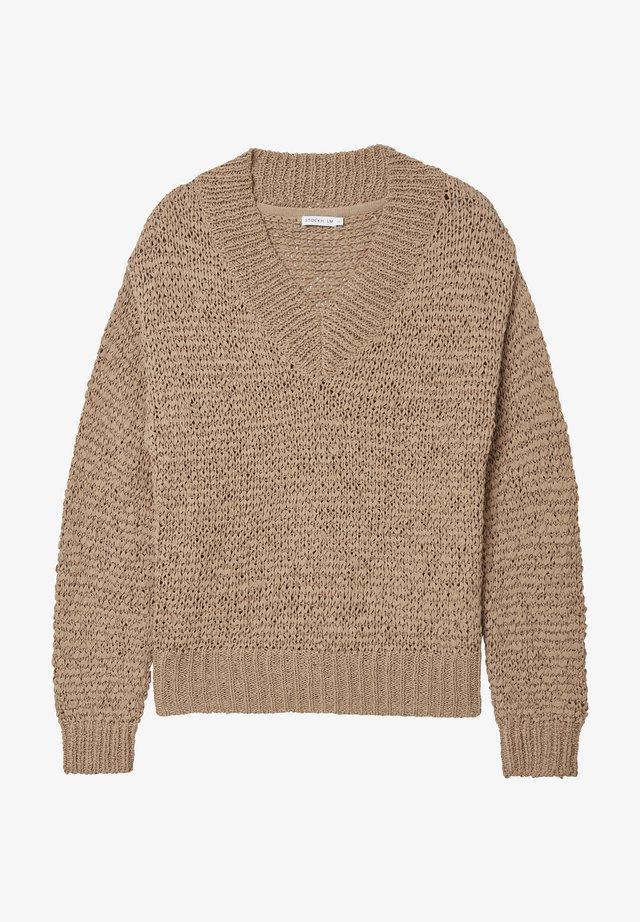 Pullover - tan