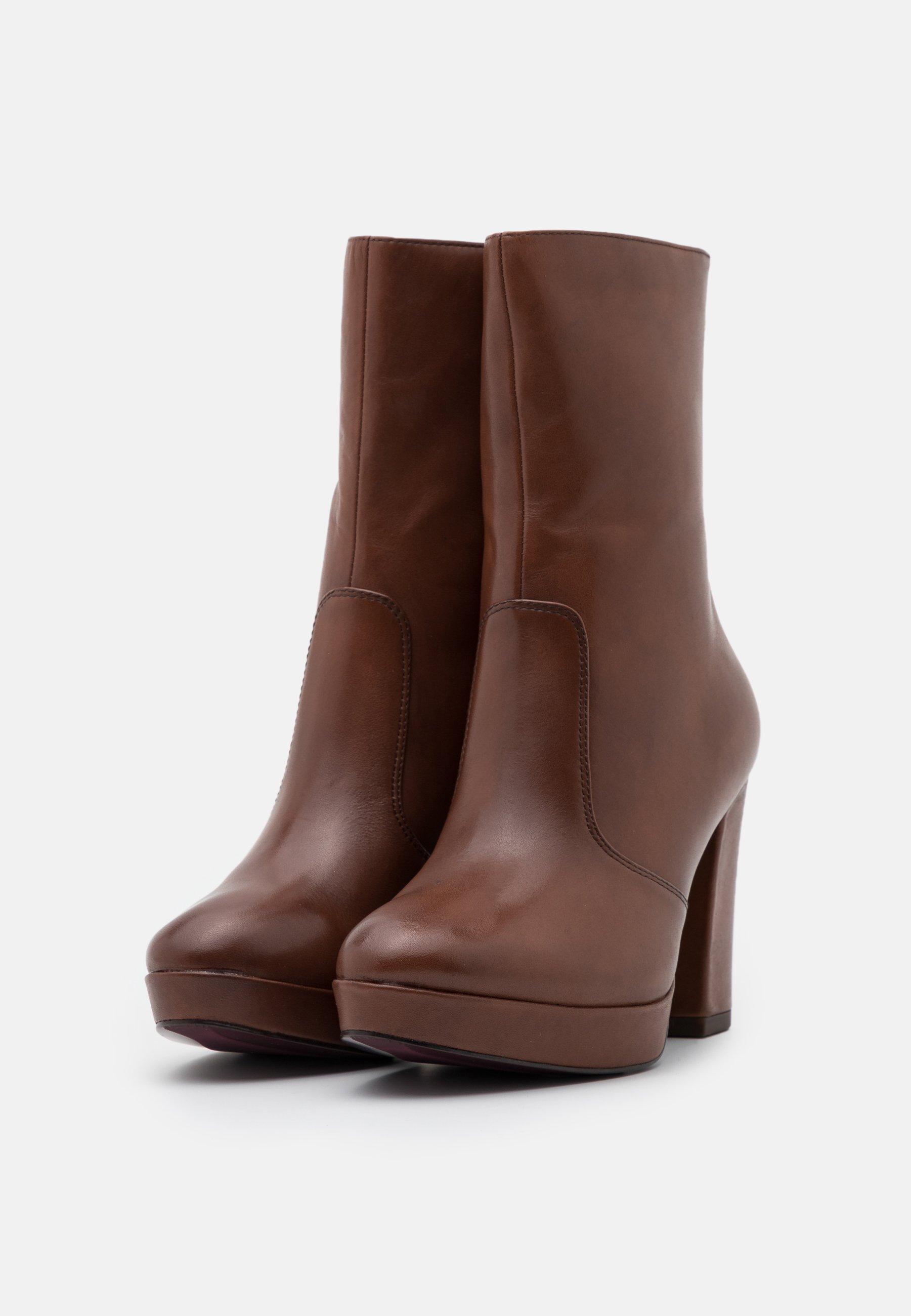 Tamaris Heart & Sole BOOTS  High Heel Stiefelette brandy/cognac