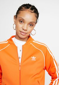 adidas Originals - ADICOLOR 3 STRIPES BOMBER TRACK JACKET - Training jacket - orange - 4