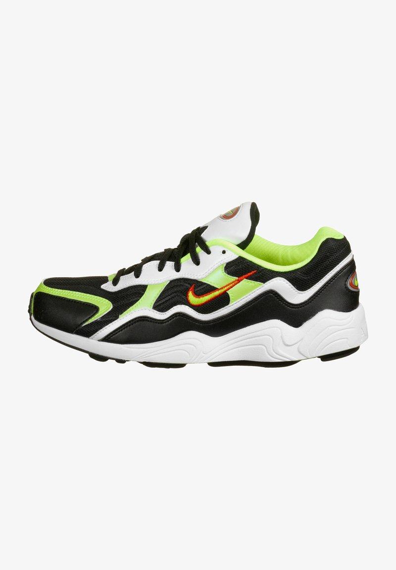 Nike Sportswear - Sneakers - black/volt-habanero red-white