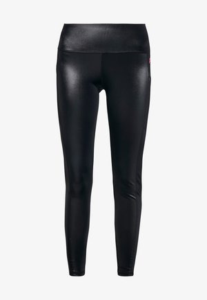 LEGGING SHINY - Legging - black
