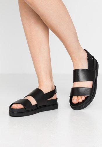 ERIN - Sandals - black