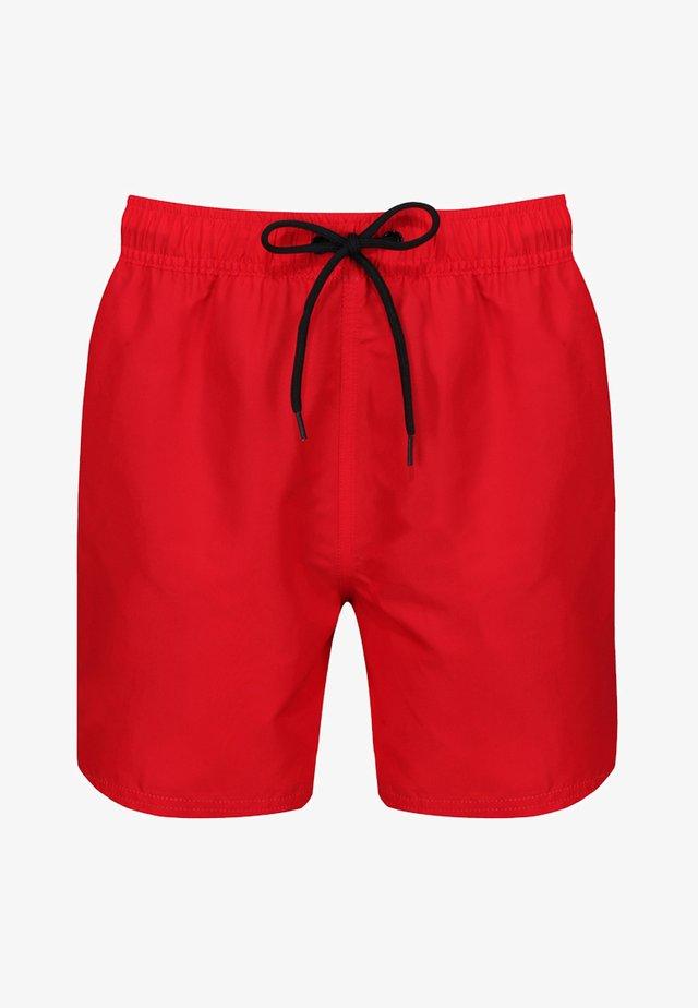 YALE - Shorts da mare - dark red