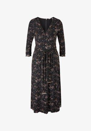 Day dress - black aop
