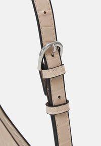 Lindex - BAG ELLA CROCO - Handbag - beige - 3